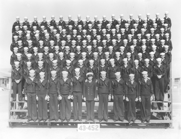 San Diego, CA, circa 1943, 43-452 after boot camp