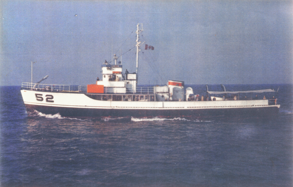 Rhea 52, 1971 in Port Stanley, Ontario