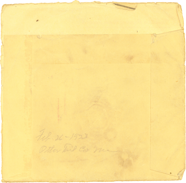 Audio letter home from boot camp; Chuck Paul at 19 years old, 1943