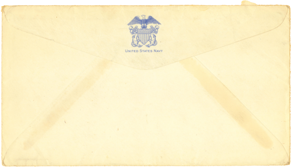 Envelope (back); September 27, 1944