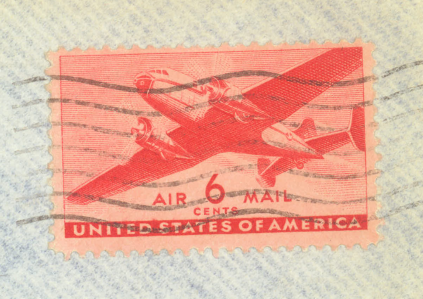 6 cents; Air Mail