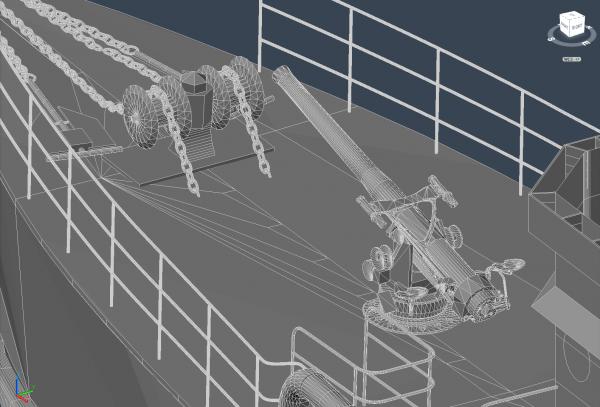 YMS-304 3D Rendering
