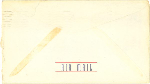 Envelope (back); December 5, 1944