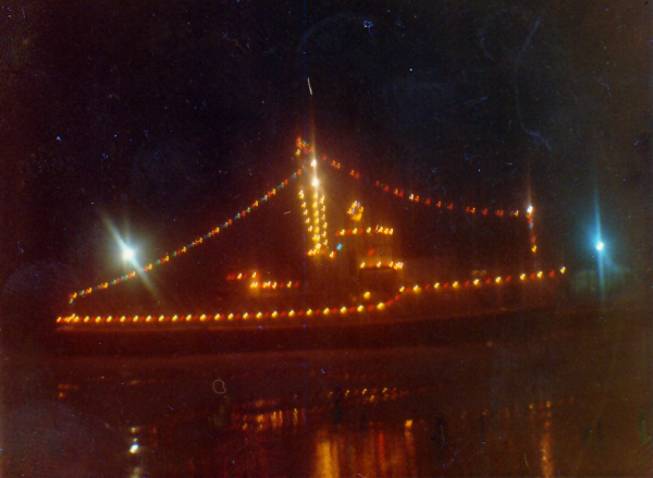 USS Rhea; Port Stanley